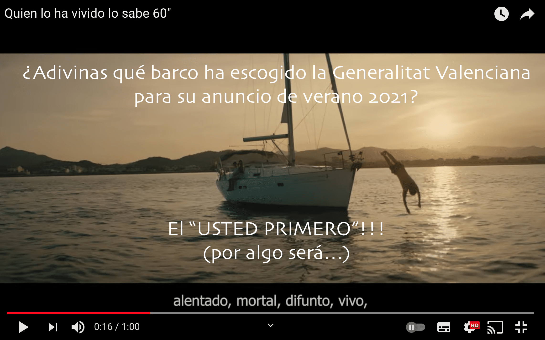 Anuncio Generalitat Valenciana